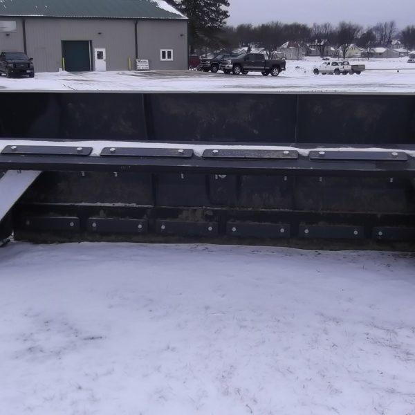 Edge Oscilliating Snow Push