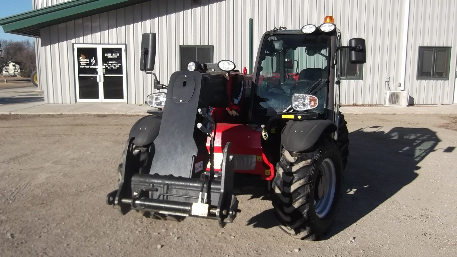 2016 manitou mlt625 telescopic handler for Mirror r18 patch